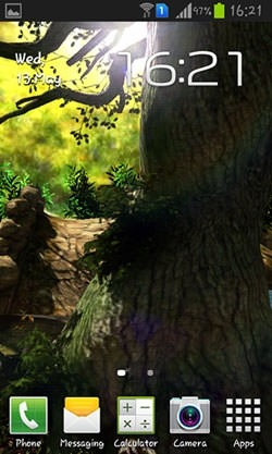 Fantasy Forest 3D Android Wallpaper Image 2