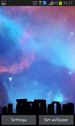 Nightfall Android Wallpaper Image 1