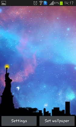 Nightfall Android Wallpaper Image 2