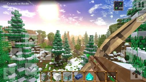 Winter Blocks Android Game Image 1