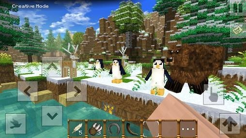 Winter Blocks Android Game Image 2