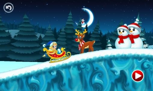 Winter Racing: Holiday Fun Android Game Image 2