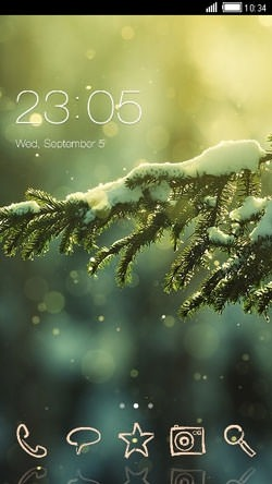 new year clauncher android theme image 1