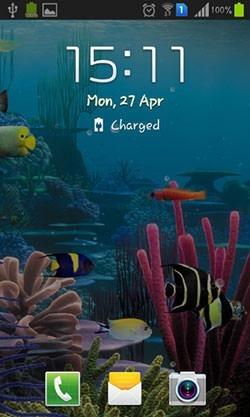 Aquarium Android Wallpaper Image 2