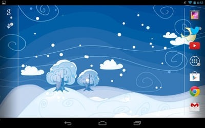 Siberian Night Android Wallpaper Image 2
