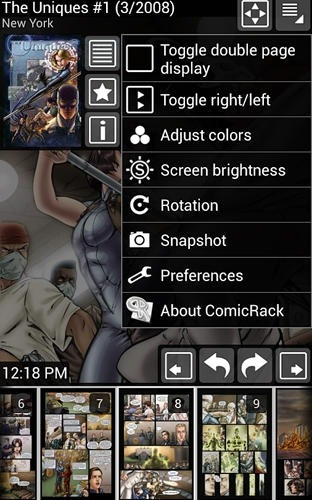 Comic Rack Android Application Image 2