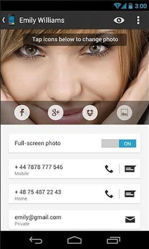 Big Caller ID Android Application Image 2