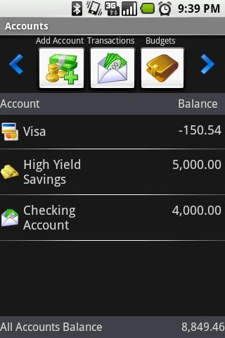 Fire Wallet Android Application Image 2