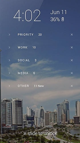 Echo Lockscreen Android Application Image 1