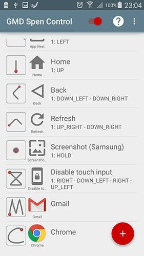 GMD Spen Control Android Application Image 1