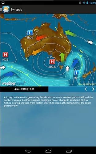 Weatherzone Plus Android Application Image 1