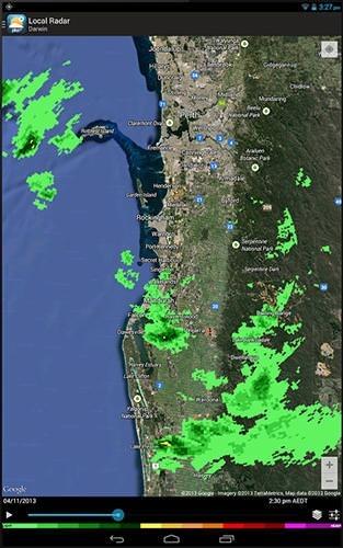 Weatherzone Plus Android Application Image 2