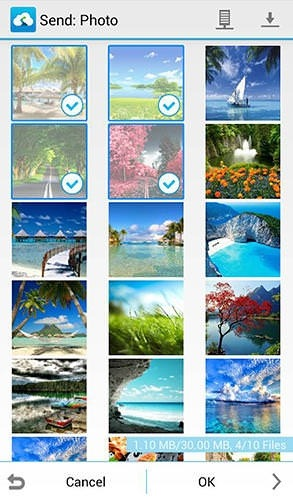 Send Anywhere: File Transfer Android Application Image 1