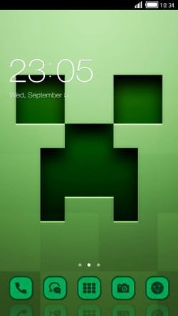 Minecraft CLauncher Android Theme Image 1