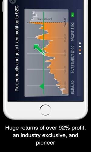IQ Option Binary Options Android Application Image 1