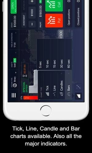 IQ Option Binary Options Android Application Image 2