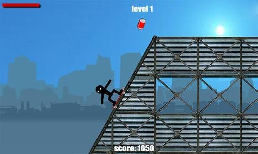 Stickman Skate Android Game Image 1