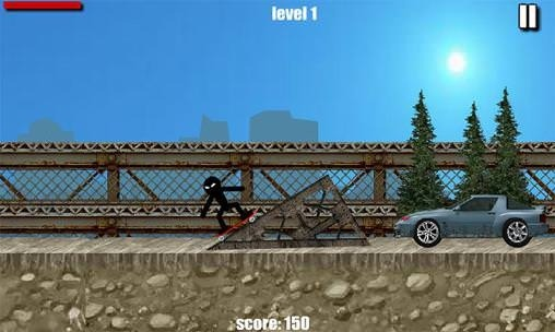Stickman Skate Android Game Image 2