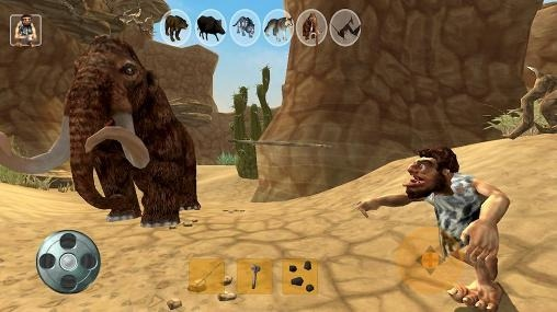 Caveman Hunter Android Game Image 1