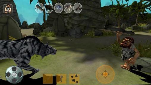 Caveman Phone : Download free caveman hunter android mobile phone game