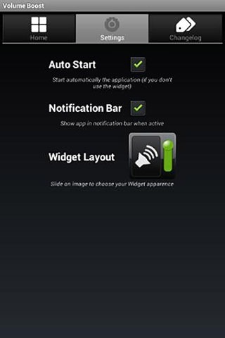 Volume Boost Android Application Image 1
