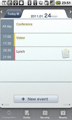 Schedule St Android Application Image 1