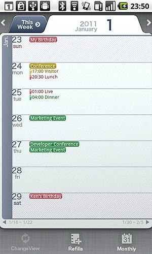 Schedule St Android Application Image 2