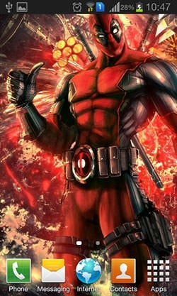 Deadpool Android Wallpaper Image 2