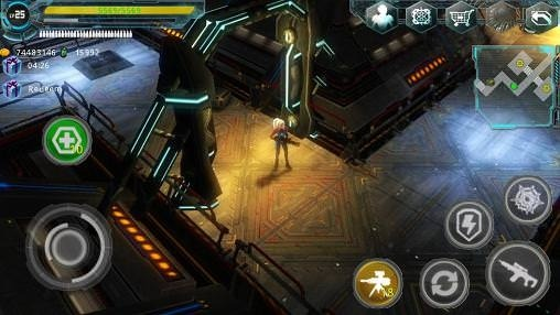Alien Zone Plus Android Game Image 1