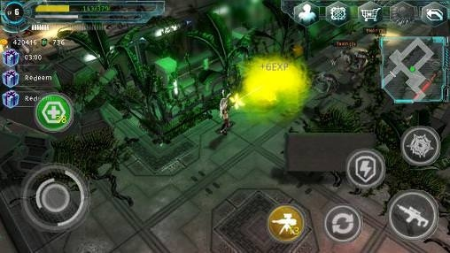 Alien Zone Plus Android Game Image 2
