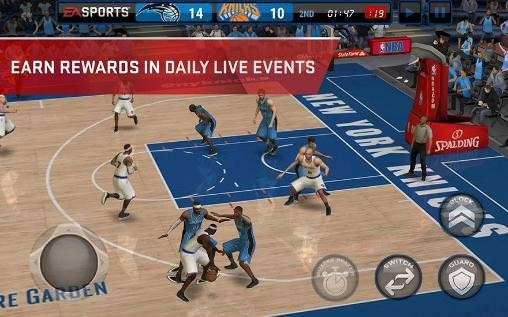 nba live 08 mobile game free download