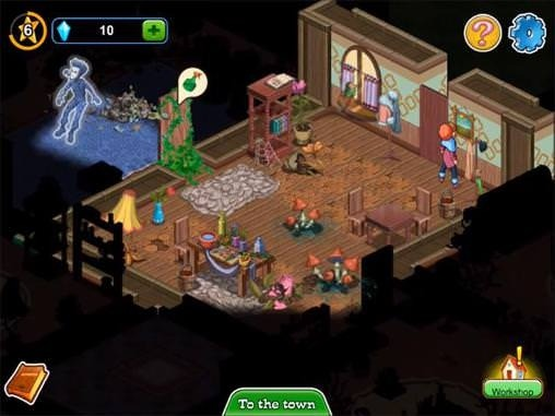Ghost Town Adventures Android Game Image 1