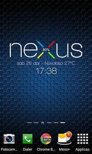 Nexus 5 Zooper Widget Android Application Image 2