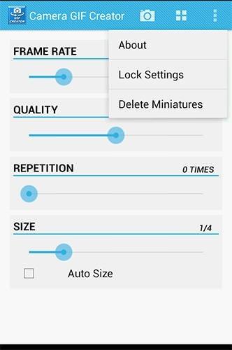 Camera Gif Creator Android Application Image 2