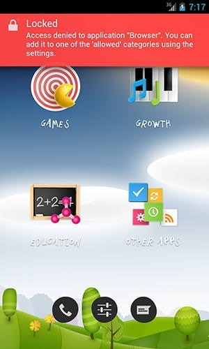 Parental Control Android Application Image 1