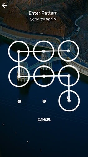 Picturesque Lock Screen Android Application Image 1