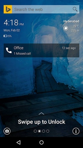 Picturesque Lock Screen Android Application Image 2