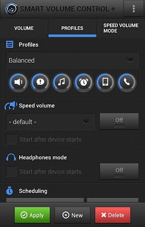 Smart Volume Control+ Android Application Image 2