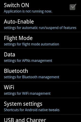 Tweak Power Savings Android Application Image 1