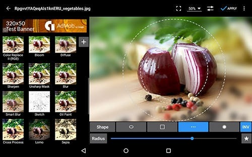 Photo Editor Android Application Image 2