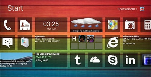 Windows 8+ Launcher Android Application Image 2