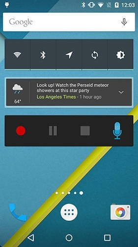 Easy Voice Recorder Pro Android Application Image 2