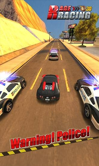 Rage Racing 3D Android Game Image 1