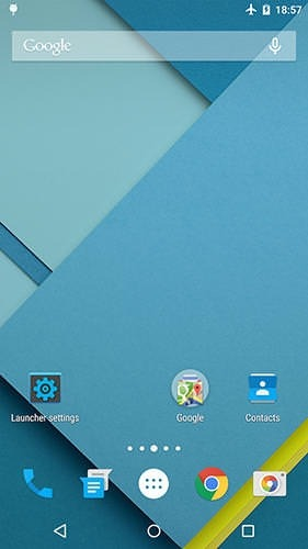 Lollipop Launcher Android Application Image 1