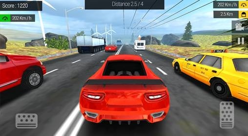 Racing In Traffic Android Game Image 2