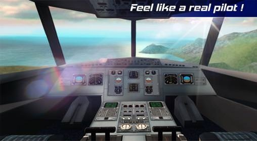 Download Free Android Game Real Pilot Flight Simulator 3D