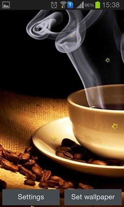 Coffee Dreams Android Wallpaper Image 2