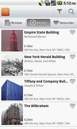 Buildings Android Application Image 1