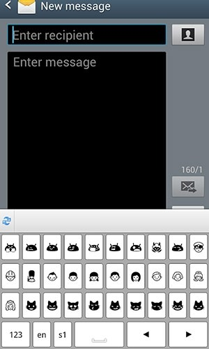 Symbols Keyboard And Text Art Android Application Image 1