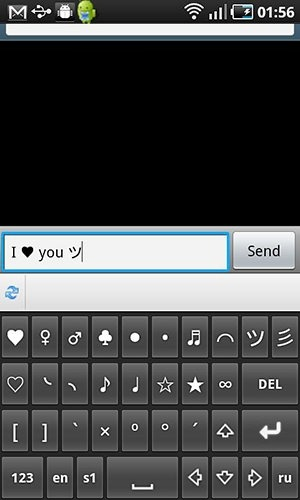 Symbols Keyboard And Text Art Android Application Image 2